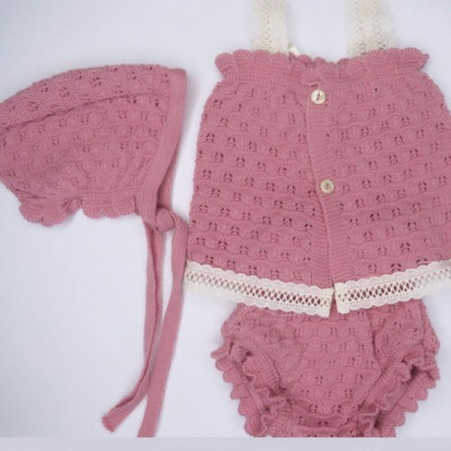 Annie Crochet Three Piece